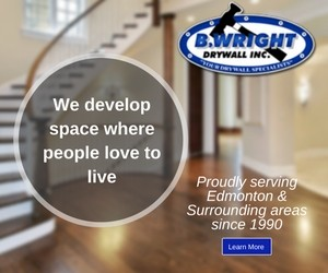 B. Wright Drywall Inc. Contact Us
