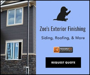 Zoe's Exterior Finishing