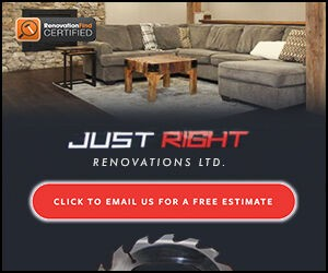 Just Right Renovations Ltd.