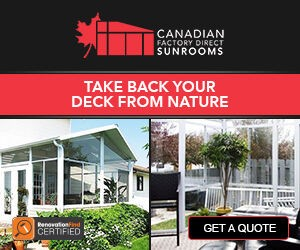 Canadian Factory Direct Sunrooms