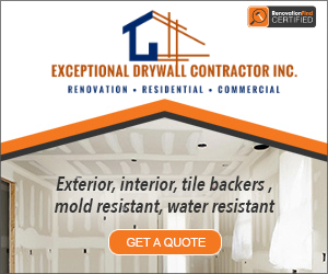 Exceptional Drywall Contractor Inc.