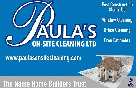 Paula's On-Site Cleaning Ltd.